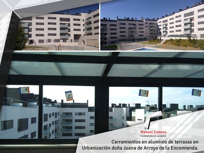 Terraza urbanización doña Juana