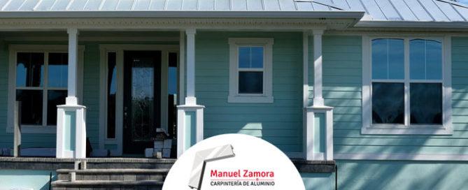 Manuel Zamora puertas exterior e interior