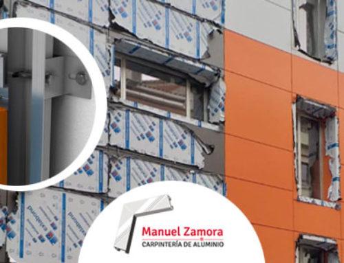 Recubrir la fachada con aluminio