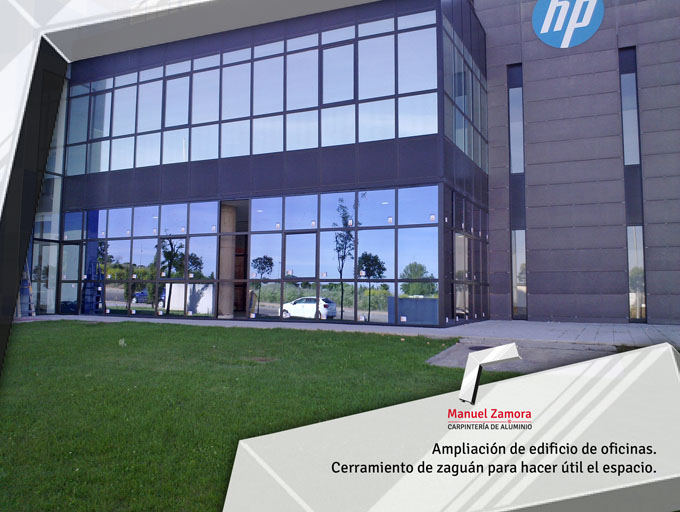 Ampliación edificio de oficinas