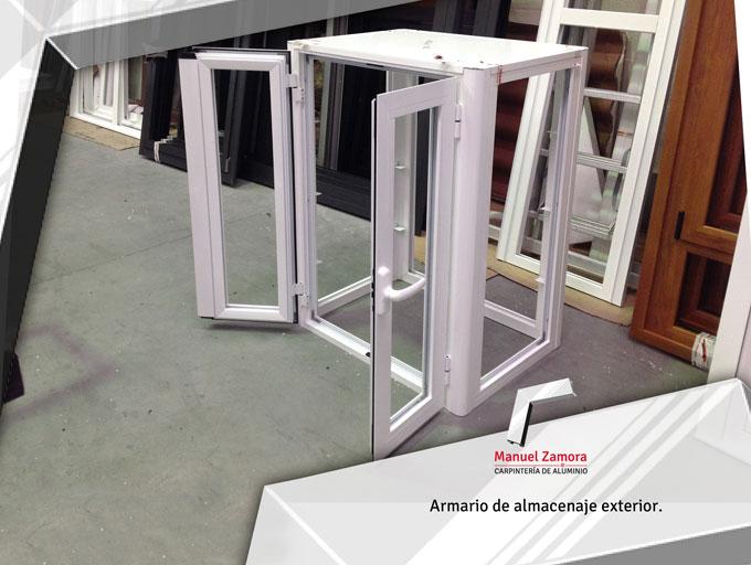 Armarioblanco aluminio a medida