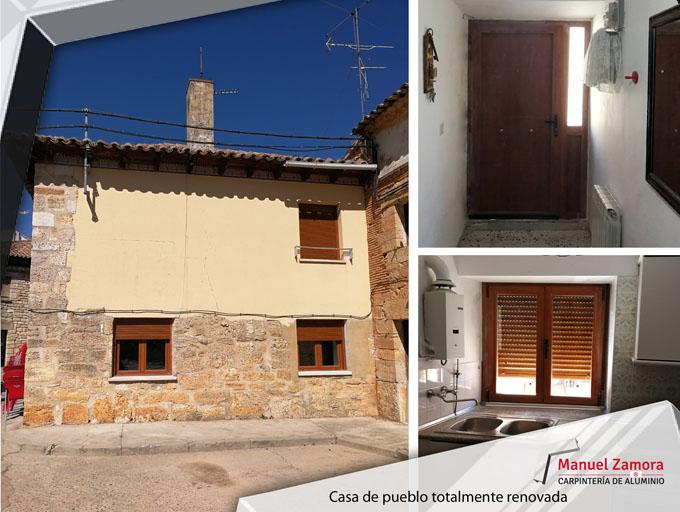 Casa de pueblo renovada