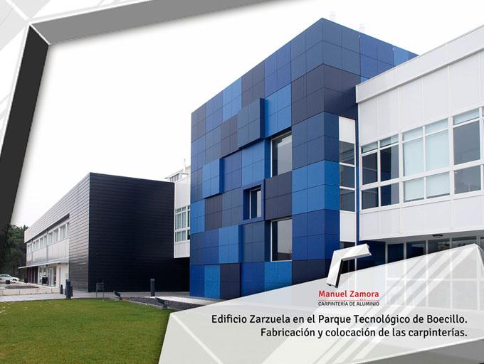 Edificio Zarzuela parque tecnológico Boecillo