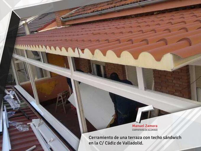 Cubrición de terraza