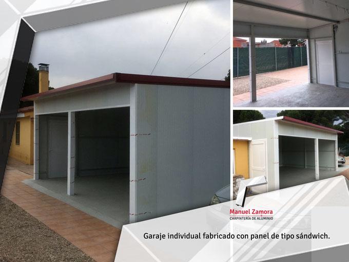 Garaje prefabricado