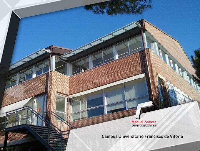 Carpinterías Campus universitario