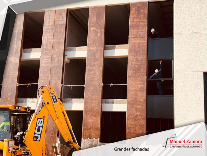 Carpinterías de grandes fachadas